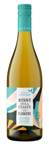 Sunny with a Chance of Flowers NV Chardonnay Bottle Shot – transp