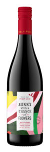 Sunny with a Chance of Flowers NV Pinot Noir Bottle Shot