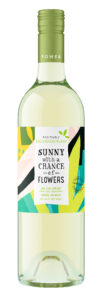 Sunny with a Chance of Flowers NV Sauvignon Blanc Bottle Shot – transp