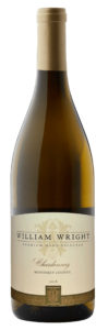 William Wright 2018 Chardonnay Bottle Shot