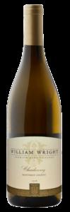 William Wright 2018 Chardonnay Bottle Shot – transp