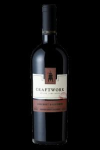 Craftwork 2018 Cabernet Sauvignon Bottle Shot – transp