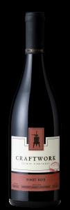 Craftwork 2018 Pinot Noir Bottle Shot – transp