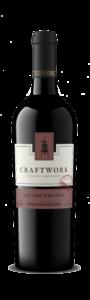 Craftwork 2018 Zinfandel Bottle Shot – transp