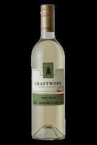 Craftwork 2019 Pinot Grigio Bottle Shot – transp