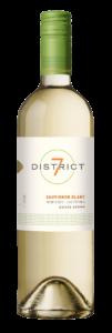 District 7 2019 Sauvignon Blanc Bottle Shot – transp