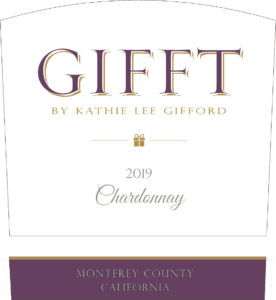 GIFFT 2019 Chardonnay Label