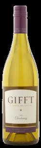 GIFFT 2019 Chardonnay Bottle Shot – transp
