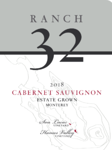 Ranch 32 2018 Cabernet Sauvignon Label – transp