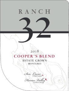Ranch 32 2018 Cooper's Blend Label