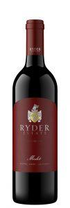 Ryder Estate NV Merlot Bottle Shot – highres