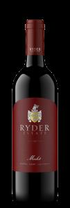 Ryder Estate NV Merlot Bottle Shot – transp