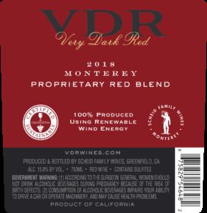 VDR 2018 Red Blend Back Label – transp