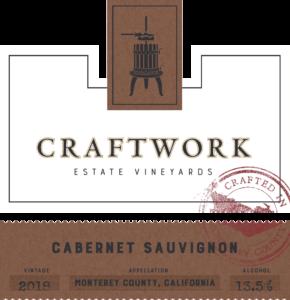 Craftwork 2018 Cabernet Sauvignon Front Label – transp