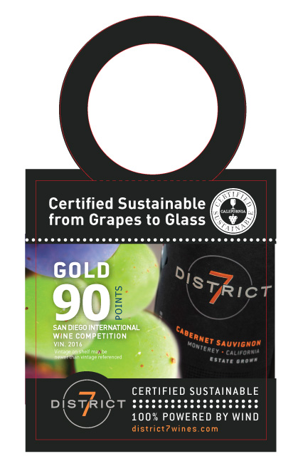 District 7 Necker NV Cabernet Sauvignon Sustainability Awards Print File