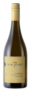 District 7 2018 Chardonnay Bottle Shot