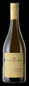 District 7 2018 Chardonnay Bottle Shot – transp