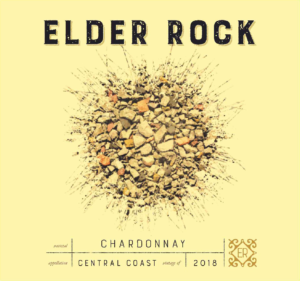 Elder Rock 2018 Chardonnay Label – transp