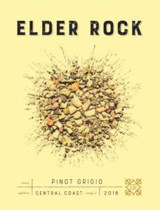 Elder Rock 2018 Pinot Grigio Label