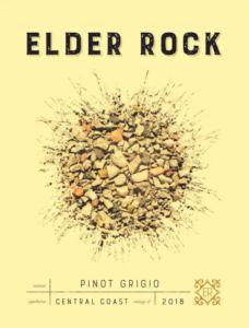 Elder Rock 2018 Pinot Grigio Label – transp