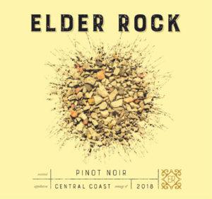 Elder Rock 2018 Pinot Noir Label