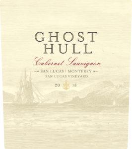 Ghost Hull 2018 Cabernet Sauvignon Label