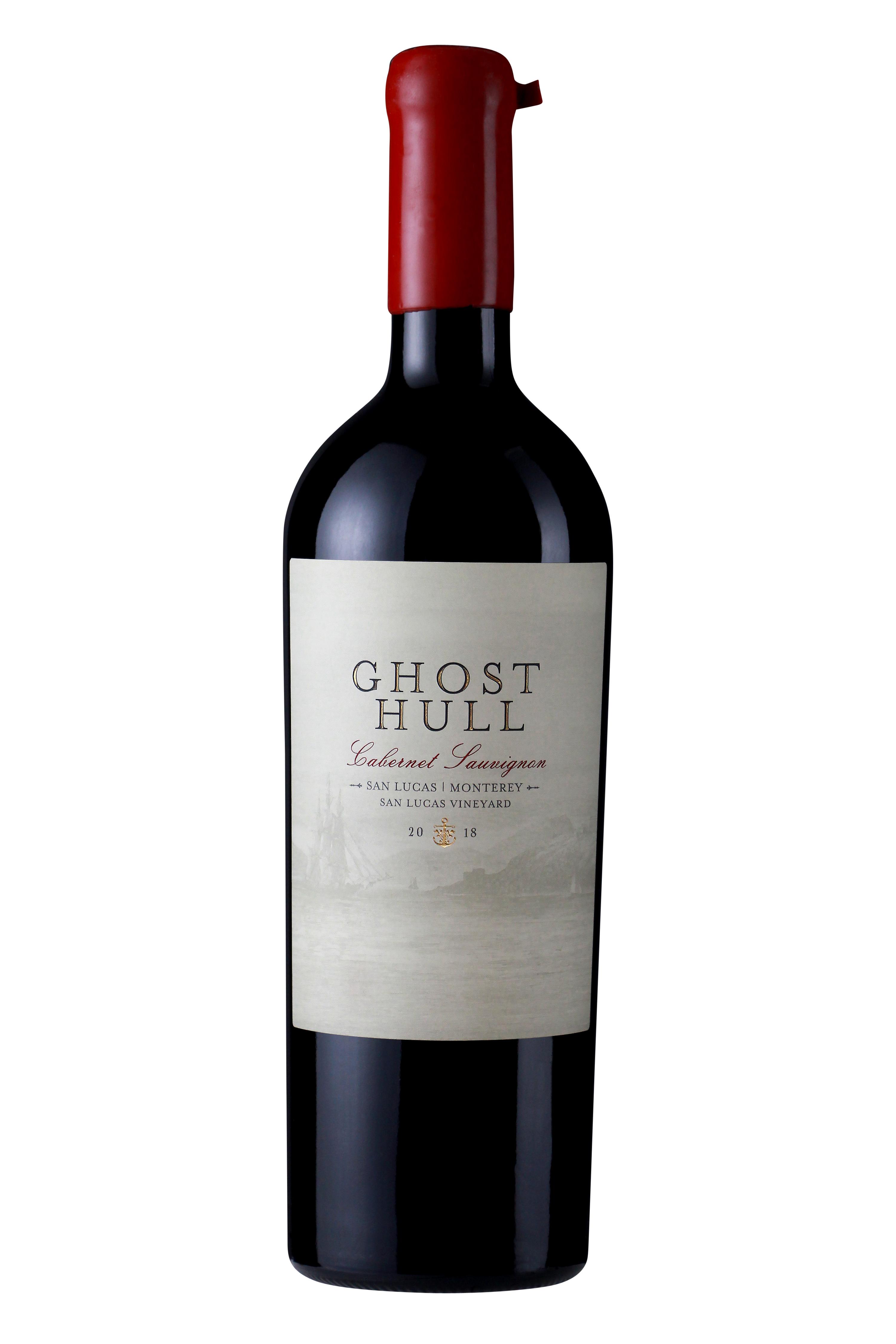 Ghost Hull 2018 Cabernet Sauvignon Bottle Shot