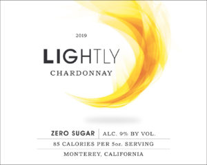 Lightly 2019 Chardonnay Label