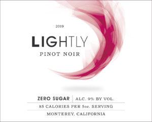 Lightly 2019 Pinot Noir Label