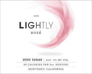 Lightly 2019 Rose Label