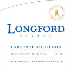 Longford Estate 2018 Cabernet Sauvignon Front Label