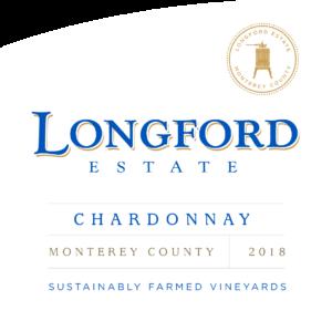 Longford Estate 2018 Chardonnay Front Label – transp