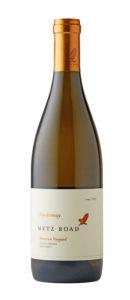 Metz Road 2017 Chardonnay Bottle Shot