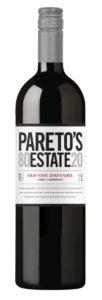 Pareto's Estate 2018 Zinfandel Bottle Shot