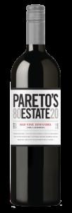 Pareto's Estate 2018 Zinfandel Bottle Shot – transp
