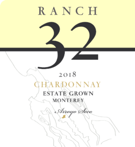 Ranch 32 2018 Chardonnay Front Label – transp