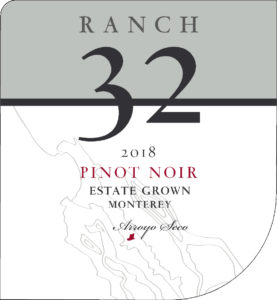 Ranch 32 2018 Pinot Noir Front Label
