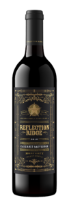 Reflection Ridge 2018 Cabernet Sauvignon Bottle Shot – transp