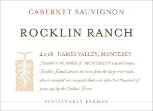 Rocklin Ranch 2018 Cabernet Sauvignon Front Label