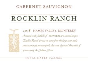 Rocklin Ranch 2018 Cabernet Sauvignon Front Label – transp