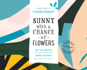 Sunny 2019 Chardonnay Front Label – transp