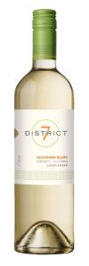 District 7 2019 Sauvignon Blanc Bottle Shot