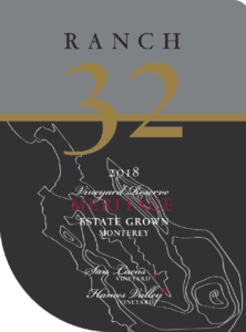 Ranch 32 2018 Meritage Front Label – transp