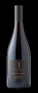 Scheid Vineyards 2015 Reserve Pinot Noir Bottle Shot – transp