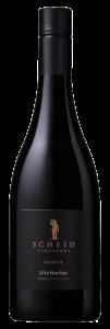 Scheid Vineyards 2016 Reserve Pinot Noir Bottle Shot – transp
