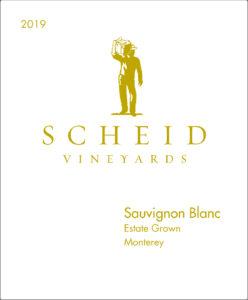 Scheid Vineyards 2019 Sauvignon Blanc Front Label