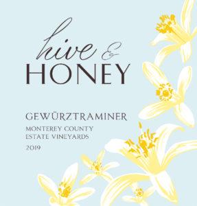 Hive & Honey 2019 Gewurzt MCO Label