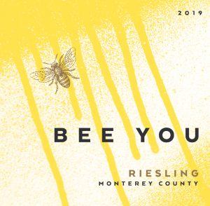 Bee You 2019 Riesling Front Label