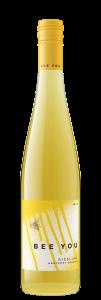 Bee You 2019 Riesling Bottle Shot – transp