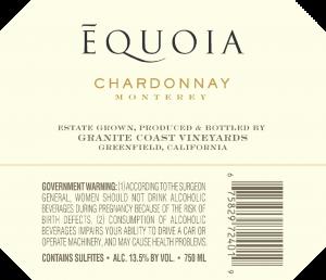Equoia NV Chardonnay Back Label – transp